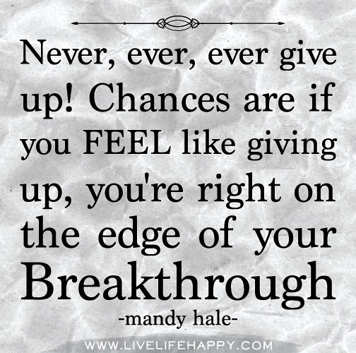 Mandy Breakthrough