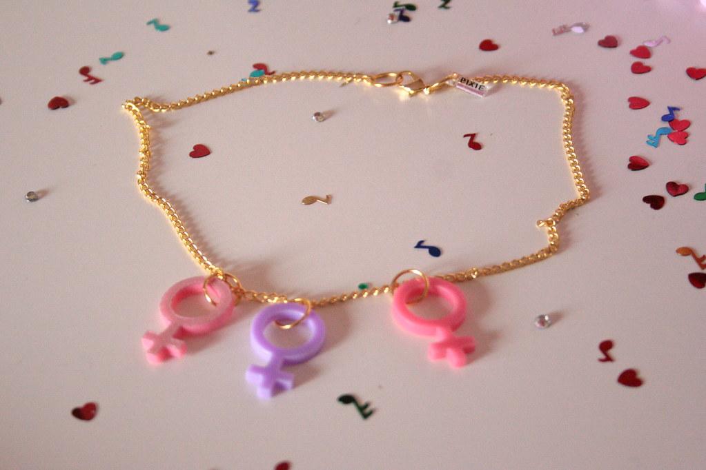 Venus Symbol Necklace Feminism Femme Pink Flickr