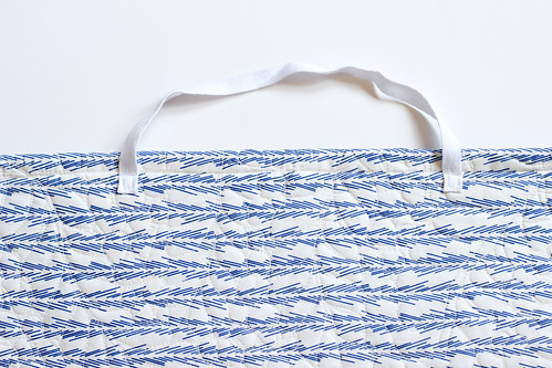 Quilted Grocery Bag Holder Tutorial | by Jeni Baker | In Color Order