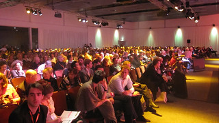 Audience for opening plenary at IFC 2012 | by HowardLake