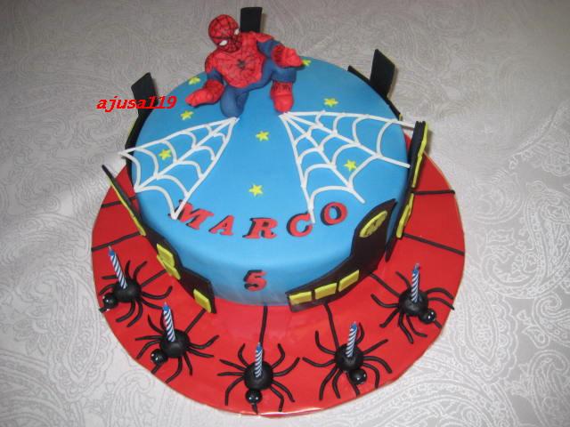 spiderman torte spiderman cake ajusa119 flickr. Black Bedroom Furniture Sets. Home Design Ideas