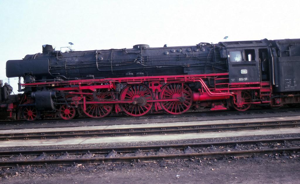Rheine Depot Steam Locomotive At Rheine Depot Germany