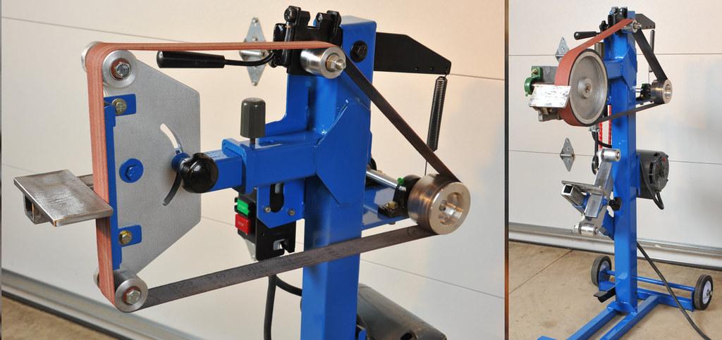 Belt grinder build