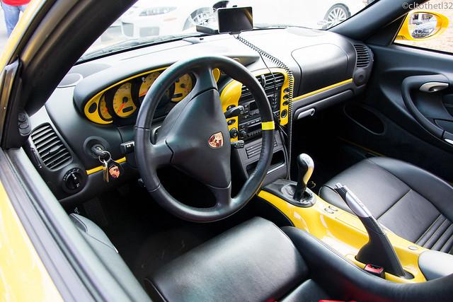 Porsche 911 996 gt3 interior flickr photo sharing for Porsche 996 interieur