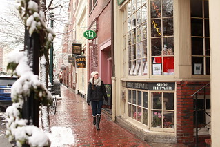 Winter in Beacon Hill, Back Bay, Boston | by Massachusetts Office of Travel & Tourism
