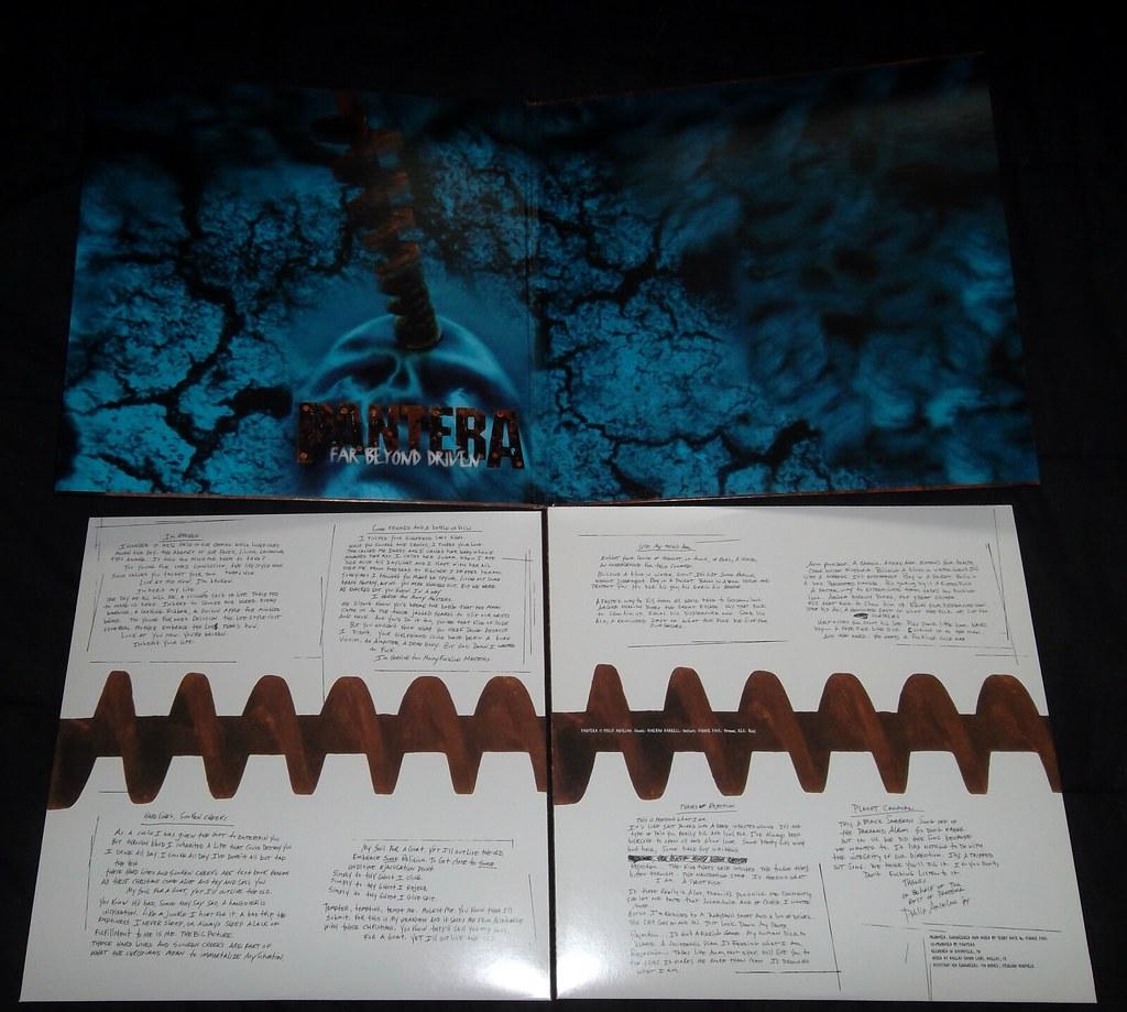 Pantera Far Beyond Driven Vinyl Pantera Far Beyond Driven Flickr