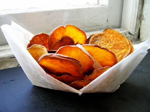 Tay Q Down's sweet potato chips | by Pseph