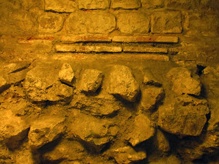 Roman remains in the basement of the Old Bailey | by Matt From London