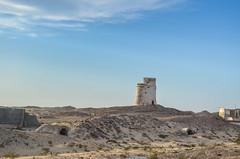 French guntowers in Nouadhibou, Mauritania