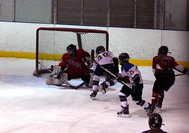 the 2012 chicago fury u14 aaa girls hockey team vs napervi