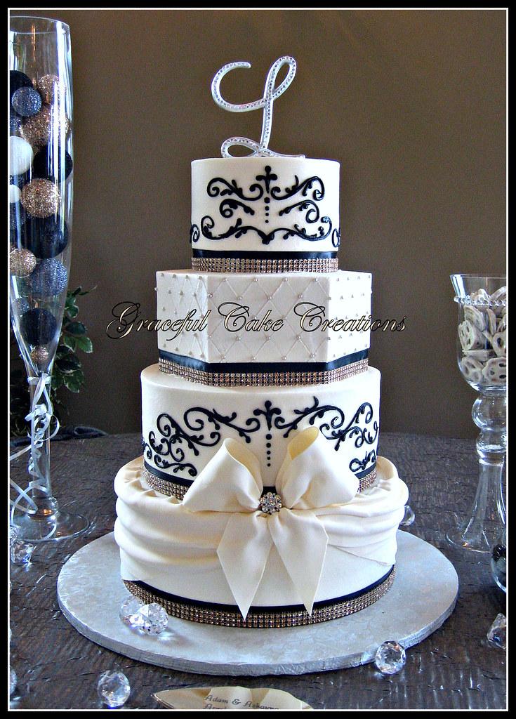 Classic Wedding Cake Decorations