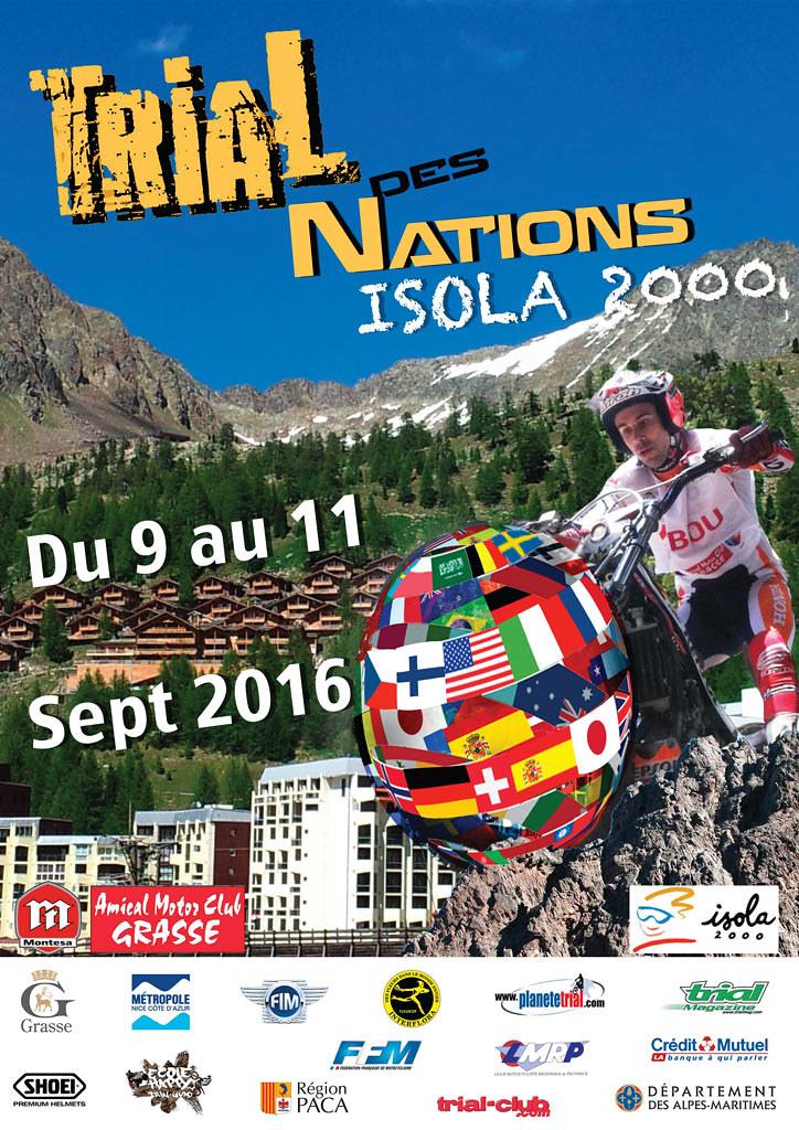 Trial de las Naciones 2016, Isola 2000