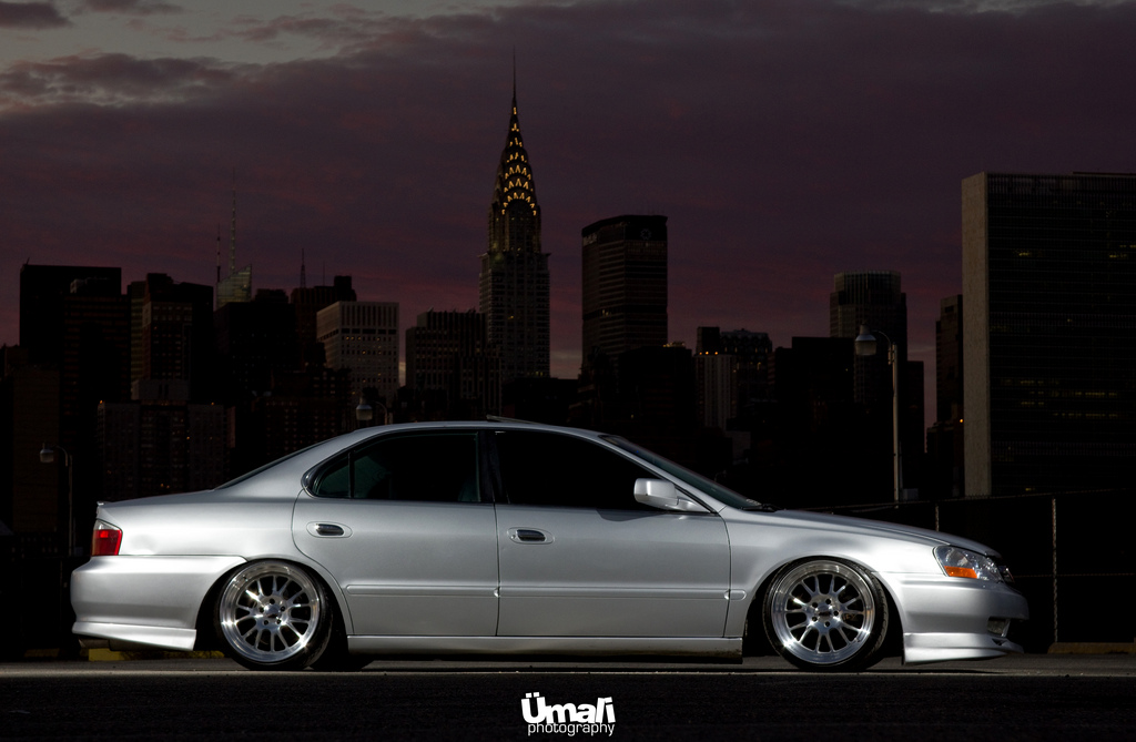 "F Wheels >> Acura TL on Klutch Wheels SL-14 | Acura TL Slammed on 18""x9.… 