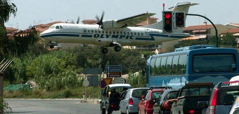 Corfu, Airports and Landing strip on Pinterest