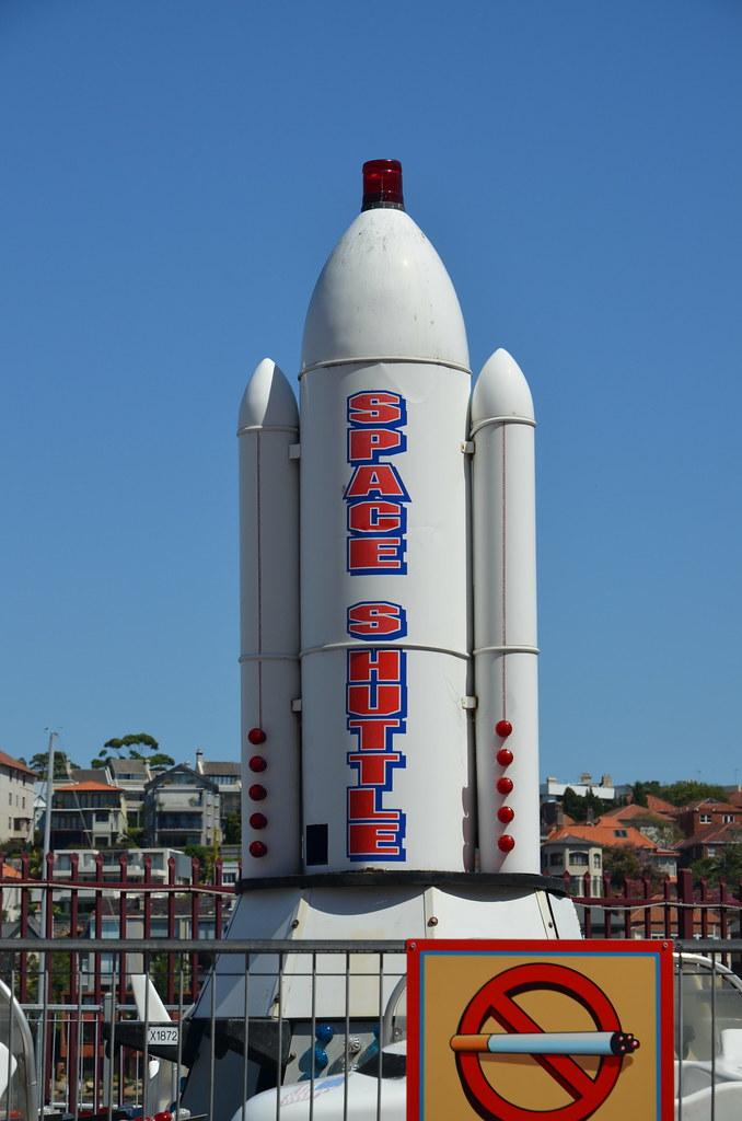 Sydney 2013 - Luna Park Space Shuttle Ride | Space Shuttle ...