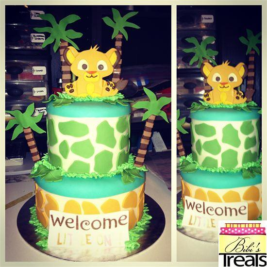 lion king baby shower cake bianca santana flickr