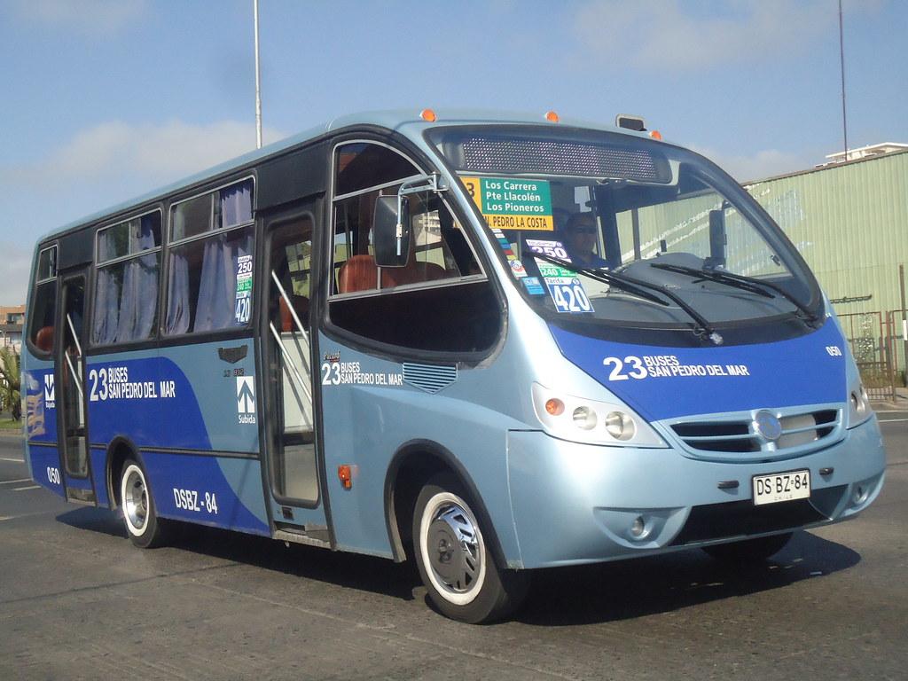 L nea 23 buses san pedro del mar metalpar pucar for Mercedes benz san pedro