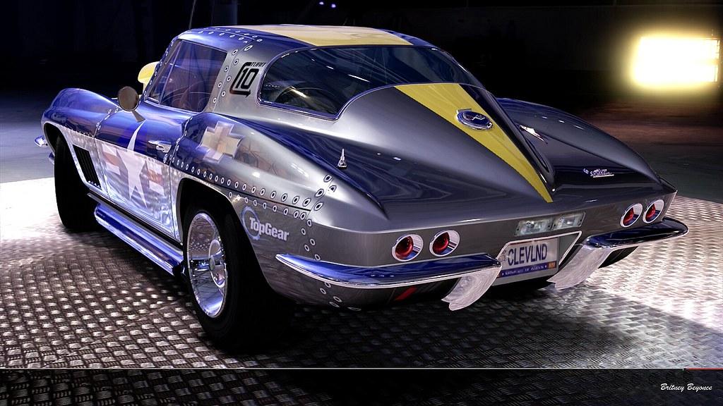 Chevrolet Corvette Stingray 427 1967 Metal Yellow