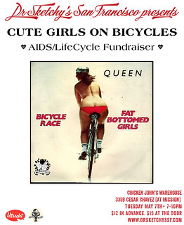 Draw Cute Girls on Bicycles | by Alice Stribling