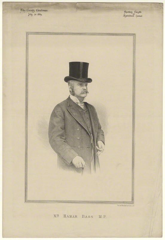 NPG D21497; Hamar Alfred Bass