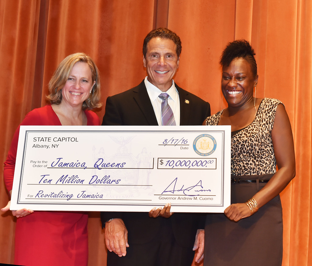 Governor Cuomo Announces Jamaica to Receive $10 Million in Downtown Revitalization Initiative