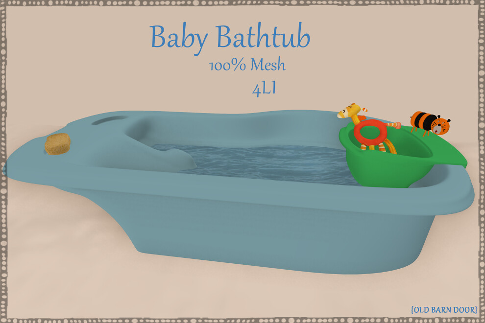 OBD} BLUE BABY BATH | *Available Now* marketplace.secondlif… | Flickr