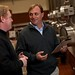 Cellarmaster Patrick Fallon and CEO John Jordan of Jordan Winery