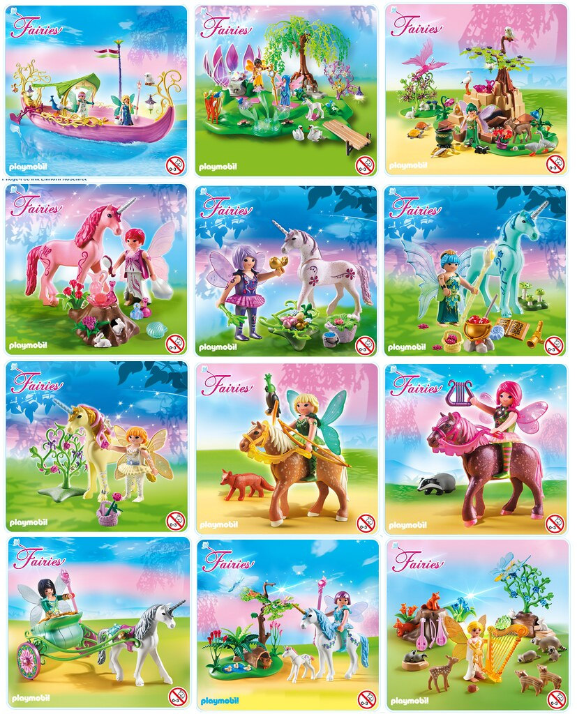 Playmobil Fairies | I just saw this new Playline on the Germ ...: https://www.flickr.com/photos/just-a-nobody/8496670559