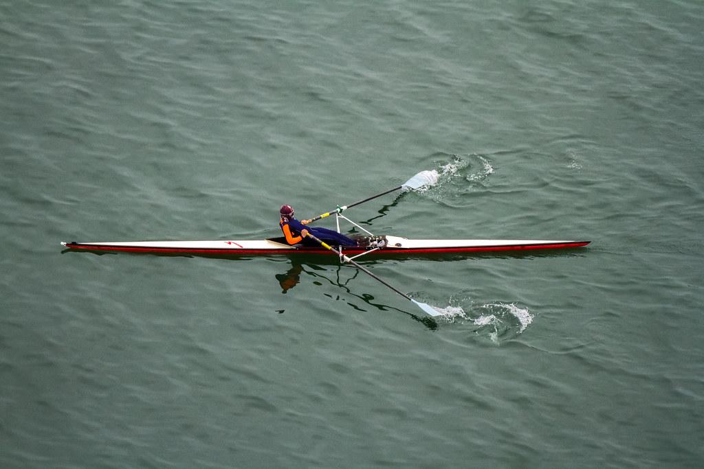 ����������� single scull rowing� �������������� hong kong water