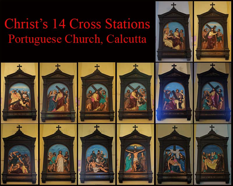 14 Stations of the Cross, Portuguese Church, Calcutta (Kol… | Flickr