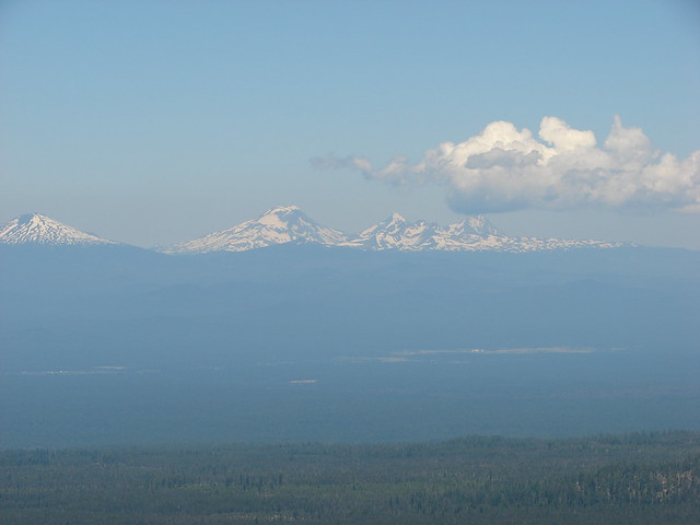 Mt. Bachelor, Broken Top and the Three Sisters