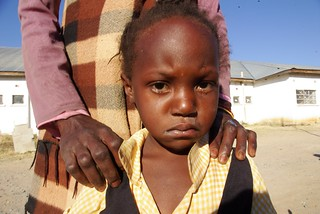 Sick child at Kalomo District Hospital - the hospital had no ORS | by ColaLife