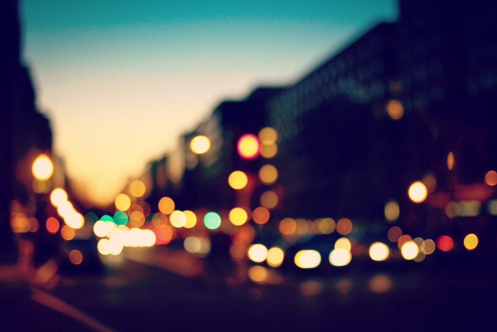 street light bokeh - photo #9