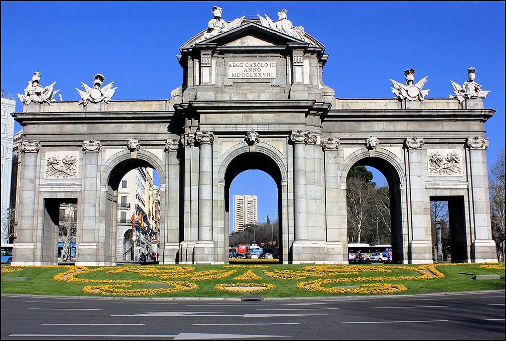 Madrid Puerta De Alcal 15 03 2013 La Puerta De