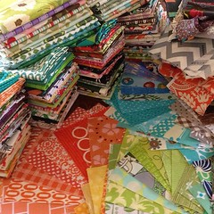Giant fabric GIVEAWAY on my blog! by maychappell