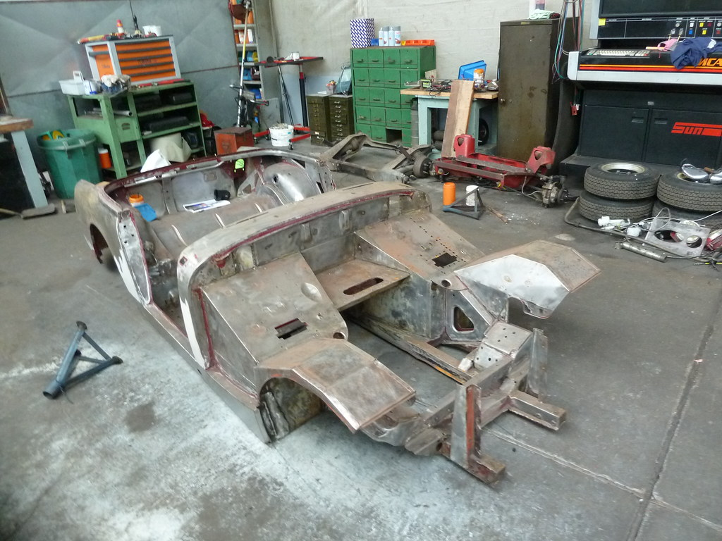 Mg midget bodyshell