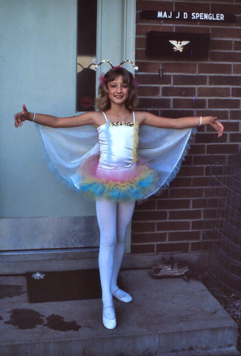 Kansas   -   Ft. Leavenworth    -   Jessica going to her Ballet Recital    -   24 May 1981 | by Ladycliff