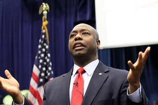 Senator Tim Scott at RB Stall High School | by North Charleston
