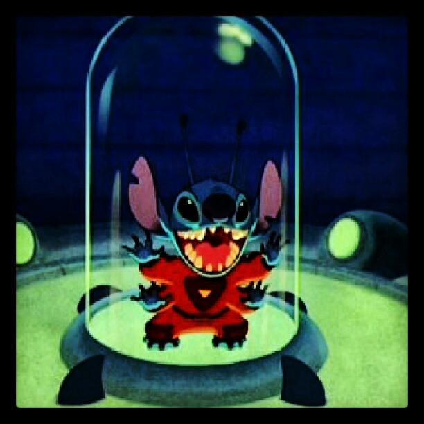 #stitch #lilo #disney #cute #alien #aloha #animation #glas ...
