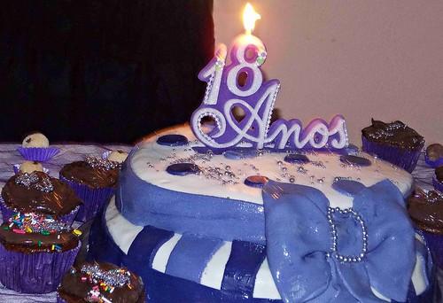Aniversario de 18 Anos Feminino Bolo de Aniversário 18 Anos