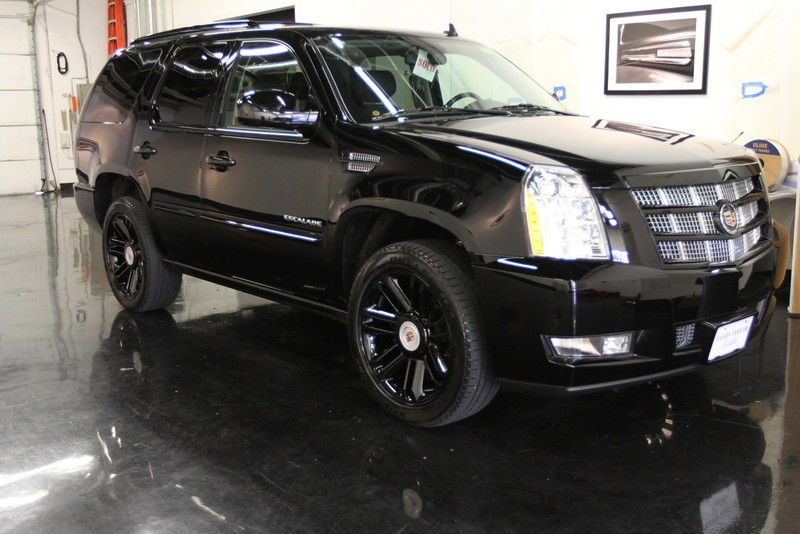Berserk Cadillac Escalade 2013 Black Blacked Out Front T