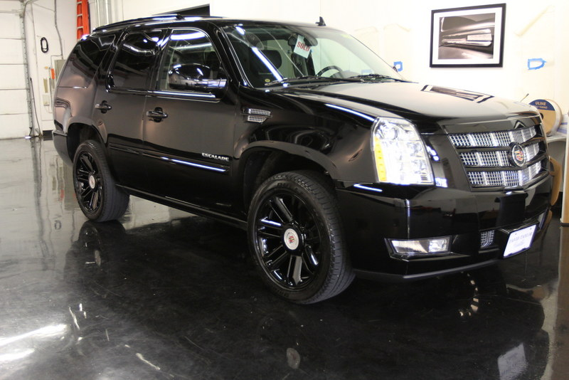 Berserk Cadillac Escalade 2013 Black Blacked Out Front To End INV3852