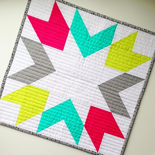 #freshminiquiltclub march 2013 using @artgalleryfabrics pure elements | by canoeridgecreations