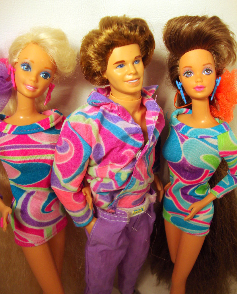 totally hair styling totally ultra hair amp ken dolls 1992 flickr 5304