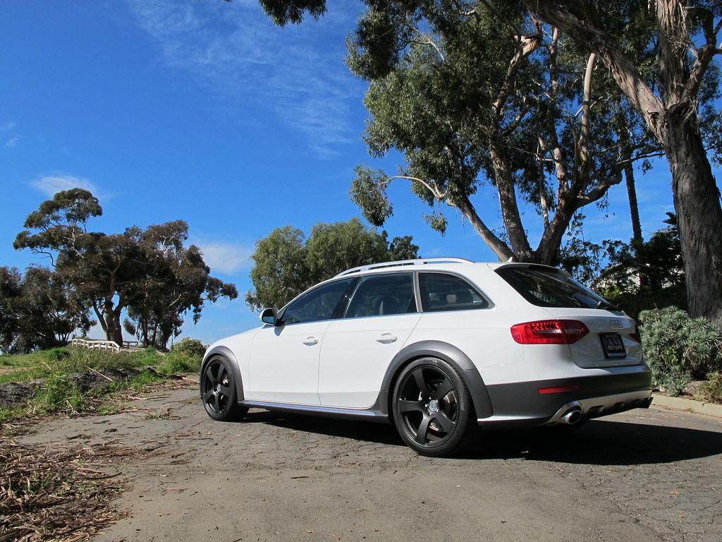 Audi B8 5 Allroad Glacier White Hre M45 Kw V3 Pirelli
