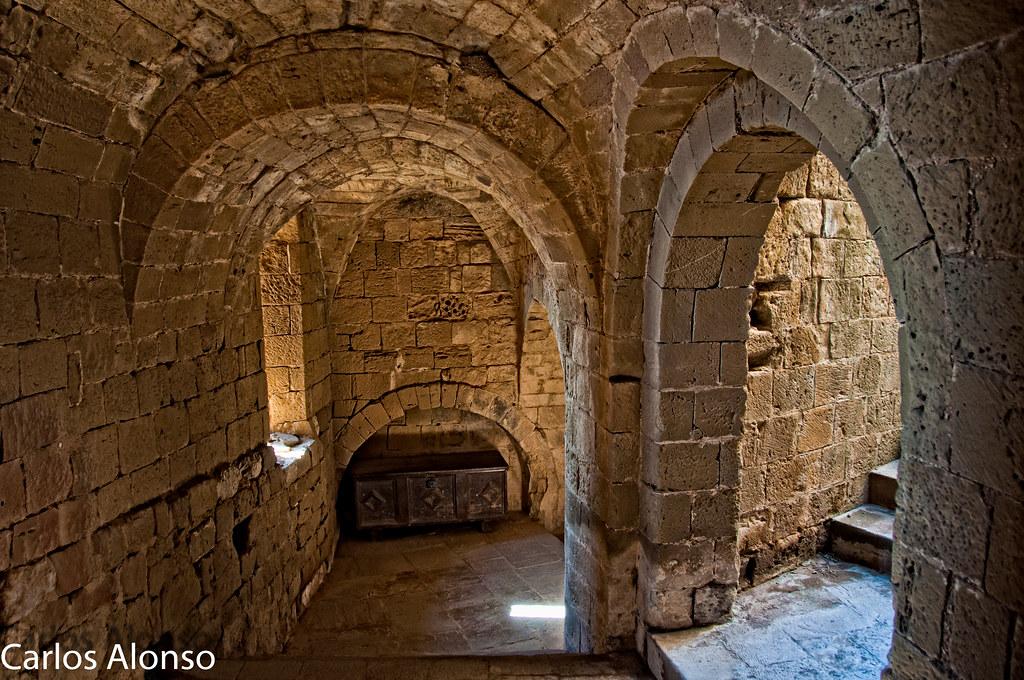 Interior Del Castillo De Loarre Ver En Grande L F11 Flickr