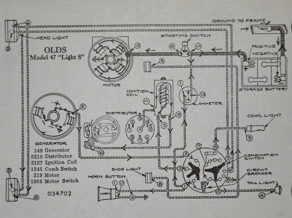 oldsmobile light 8 wiring diagram dyke s automotive 19 flickr rh flickr com