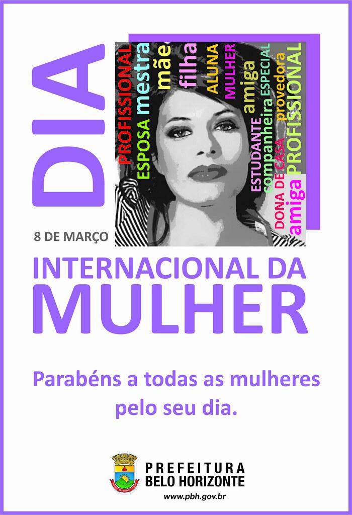 Cartaz Dia da Mulher | Portal PBH | Flickr