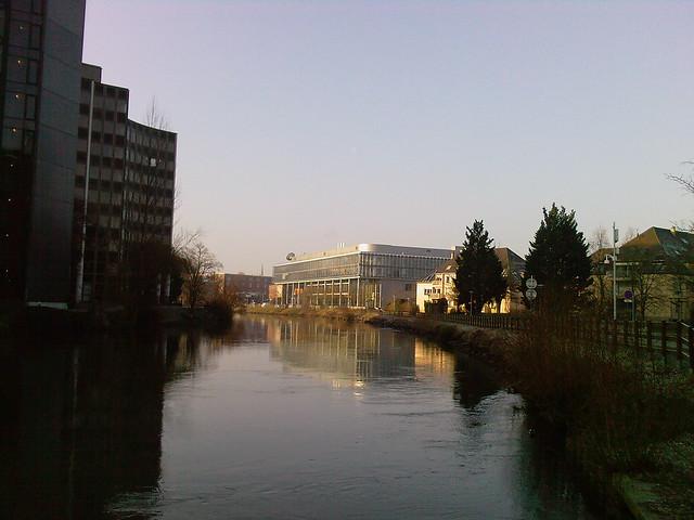 Arte TV's headquarters in Strasbourg, Franc