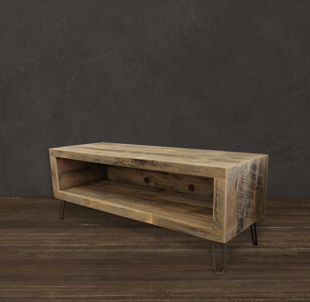 Television Stand Reclaimed Wood Media Console Table Flickr